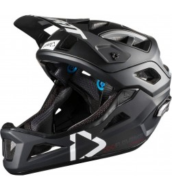Casco Desmontable Leatt DBX 3.0 Enduro Color Negro/Blanco