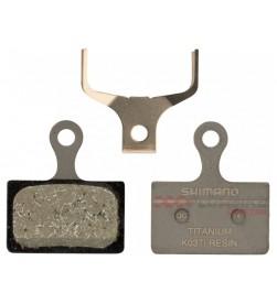 Pastillas Freno Orgánicas Shimano K03Ti (Titanio) M9100-M9110-R7000