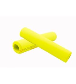 Puños  El Gallo Components Silicona Amarillo Neon