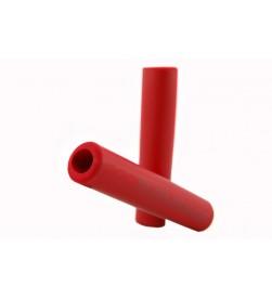 Puños  El Gallo Components Silicona Rojo