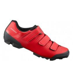 Zapatillas mtb Shimano XC1 Rojas