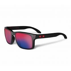 a59890cac Sunglasses Oakley Holbrook Matte Black/ Positive Red Iridium