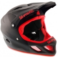 Casco Integral Bluegrass Explicit Negro/Rojo