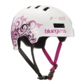 Casco Bluegrass Superbold Blanco/Rosa