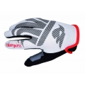 Guantes largos Bluegrass Red Wolf Blanco Rojo