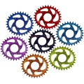 Plato Ovalado Bpart Components Direct Mount Race Face Narrow Wide BOOST 28 dientes -3mm Offset (Colores)