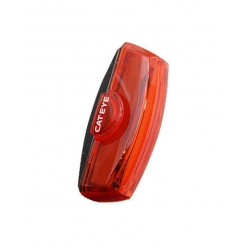 Rear Black//Red Silicone 3 Cateye Tl-Ld710K Rapid X2 Kinetic Rear Lights