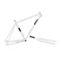 Cuadro Fixie Csepel Royal Blanco