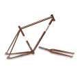 Cuadro Fixie Csepel Royal Marron