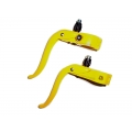Manetas de freno Csepel Piton Fixie 23,8 mm Amarillo