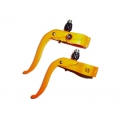 Manetas de freno Csepel Piton Fixie 23,8 mm Naranja