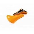 Csepel Royal Puhos Orange Saddle