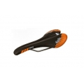 Saddle El Gallo Components NDR Black/ Orange