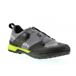 Zapatillas Five Ten Kestrel - Grey / Slime Clipless (para pedales automáticos)