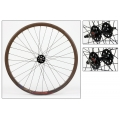 "Fixie Front Wheel 700"" Brown With profile DP18"
