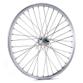 "Front Wheel 20"" Aluminum rim with steel hub with bolts"