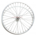 Front Wheel 500A Aluminium rim with hub in steel with nuts