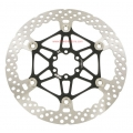 Hope V2 Floating 203mm Black Disc Brake Rotor