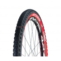 Hutchinson Cobra XC RR plegable 26x2.10 negra-roja Tubeless ready