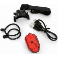 Pilot Rear Light Red 4 LED Safety MSC