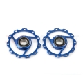 Rulinas MSC Ultralight Aluminio Azules 11dientes