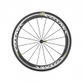 Mavic Cosmic Pro Carbon 17 White Road Front Wheel with tire