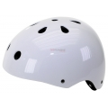 Casco BMX Blanco Brillante Dirt (54-58cm)