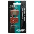 Ashima Sos Dual Compound Brake Pads Avid Juicy i BB7 Sintered