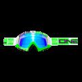 Máscara Oneal B-Flex ETR Blanco/Verde Radium