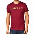 Camiseta Oakley Boardwalk View New Crimson