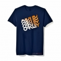 Camiseta Oakley Quad Factory Navy Azul