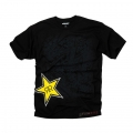 Camiseta Rockstar One Industries Infantil RE-UP Negro