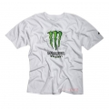 Camiseta Monster One Industries Bust it Tee Blanco talla L