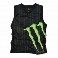 Camiseta One Industries Monster Energy Massive Sin mangas Negro XL