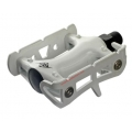 Pedales Plataforma Fixie Origin 8 Color Blanco