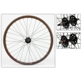 "Fixie Rear Wheel 700"" Brown With profile DP18"