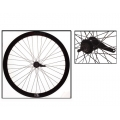 "Fixie Rear Wheel 700"" Origin 8 With Coaster Brake Hub Black Matte"