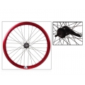"Fixie Rear Wheel 700"" Origin 8 With Coaster Brake Hub Red Metalic"
