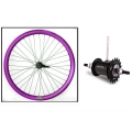 "Fixie Rear Wheel 700"" Origin 8 With Coaster Brake Hub Purple Metalic"
