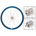 "Fixie Rear Wheel 700"" Profile Blue Origin 8 (32 spokes) ECO"