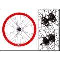 "Fixie Rear Wheel 700"" Profile Red Origin 8 (32 spokes)"