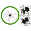 "Fixie Rear Wheel 700"" Profile Green Origin 8 (32 spokes)"