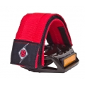Strap Pro Grip II Fixie Origin 8 Calapie Velcro Color Rojo