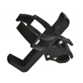Black quick realese bottle cage (without tools)