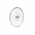 "Front Wheel 14"" Aluminum rim with steel hub with bolts"