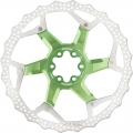 Reverse Disc Brake 203mm Light Green 6 screws