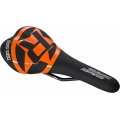 Reverse saddle Fort Will CrMo Black/Orange