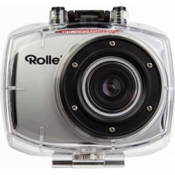Cámara Rollei Action Cam Racy Full HD Plata