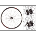 "Fixie Wheel 700"" Weinmann Front Manuka Black Disc Mount"