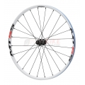 "Rueda trasera 26"" Shimano MT55 Center-lock Blanca"